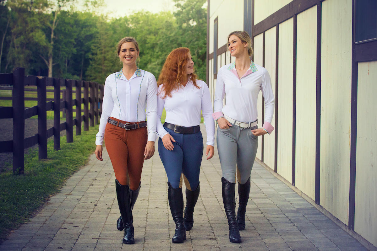 Ladies in Horse Riding Breeches