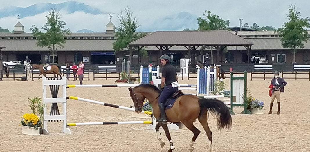 The new normal of horse showing during COVID-19.