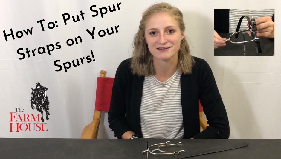 How To: Put Spur Straps On Your Spurs