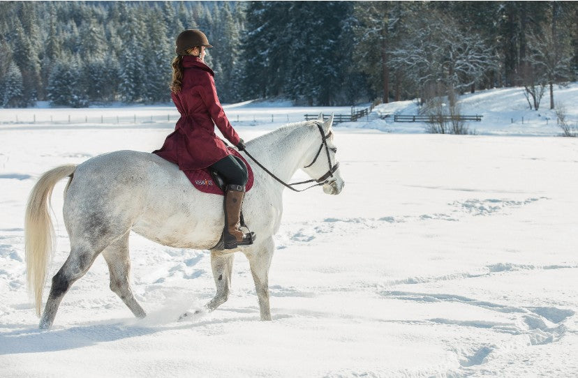 Cold Weather Horseback Riding Tips