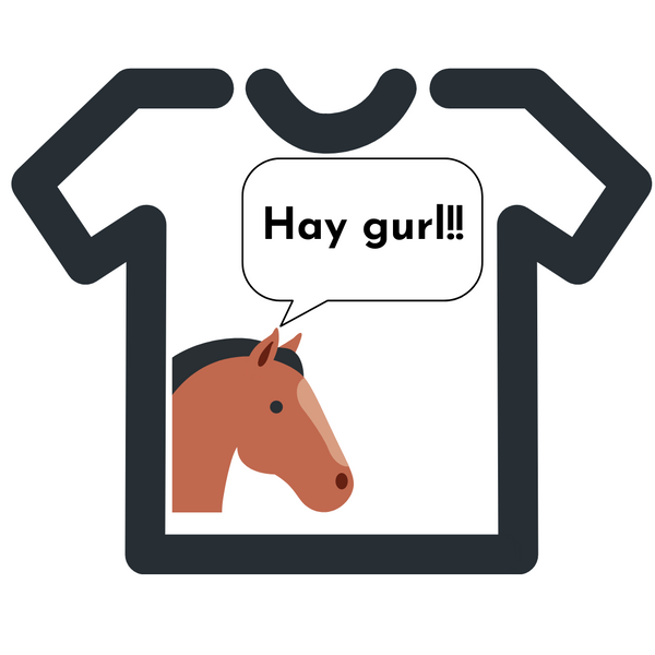 Horse girl t shirts