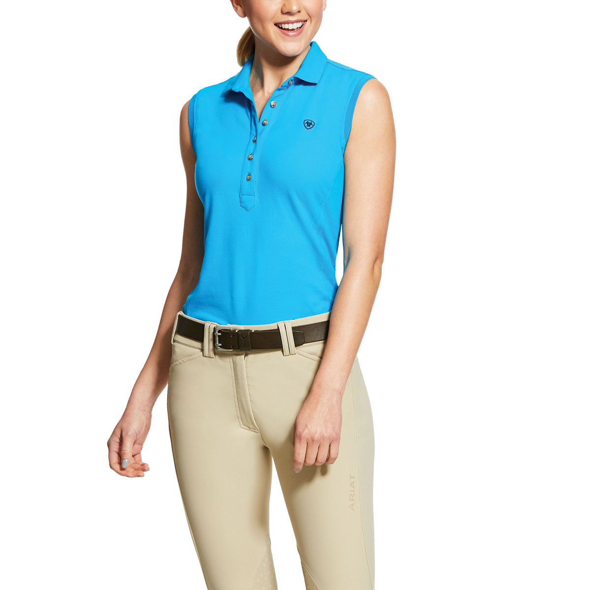 Ariat Women's Prix 2.0 Sleeveless Polo Shirt