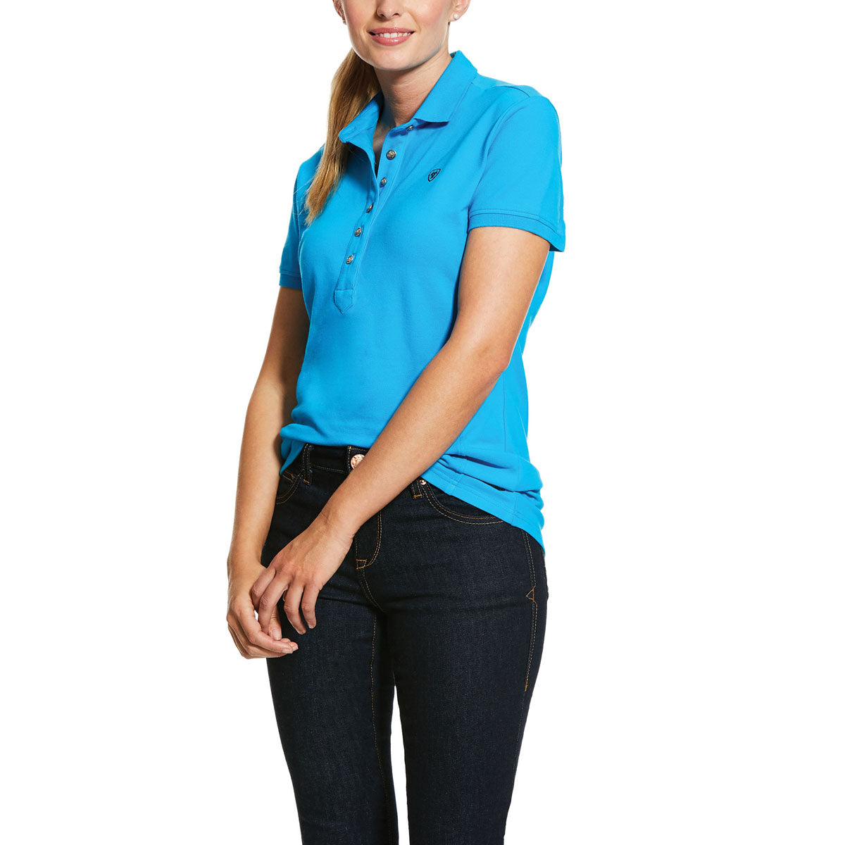 Ariat Women's Prix 2.0 Short Sleeve Polo Shirt