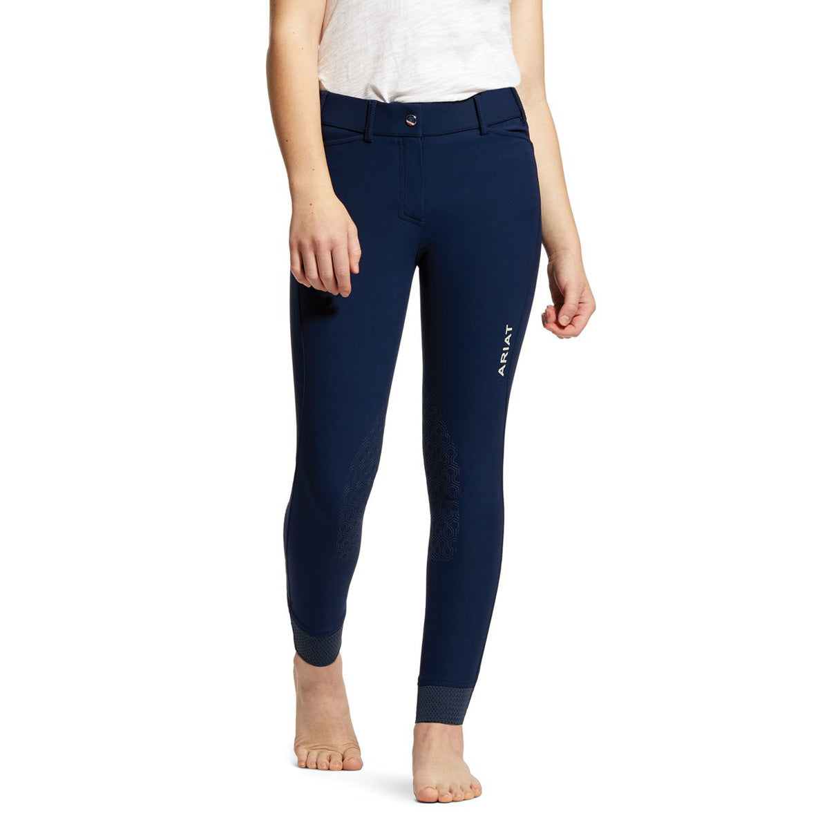 Ariat Youth Tri Factor Grip Knee Patch Breech