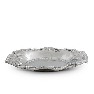 Arthur Court Equestrian Tray - Oval