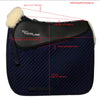 ThinLine Woven Wool Square Dressage Saddle Pad