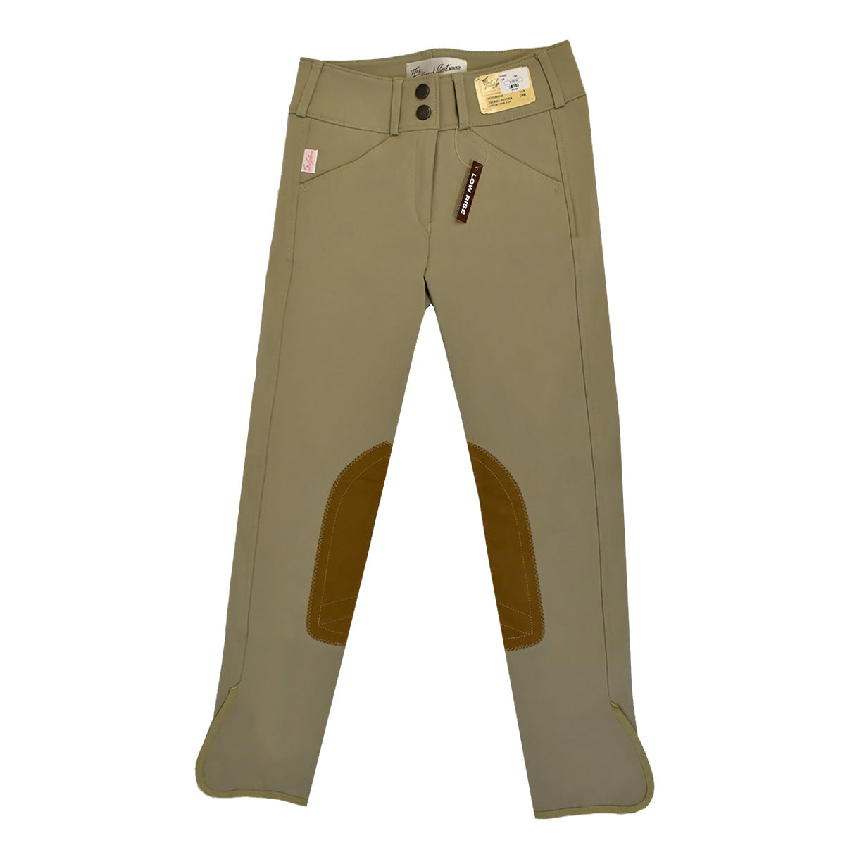 Tailored Sportsman Girls Front Zip Trophy Hunter Breeches