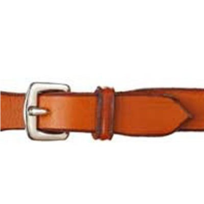 Edgewood Fancy Stitched Raised Rubber Reins 1/2""