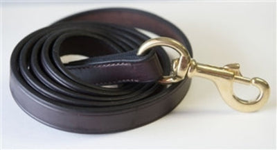 Nunn Finer Leather Lead With Snap End