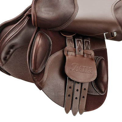 Bates Elevation + Saddle with Luxe Leather & CAIR Cushion System