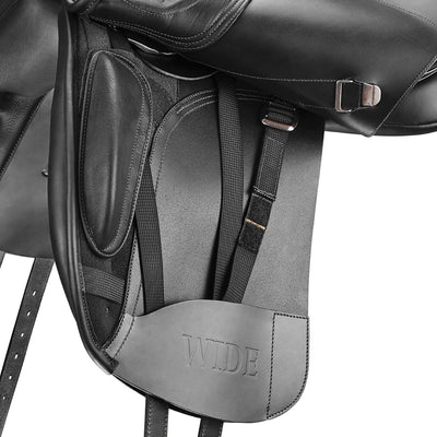 Bates WIDE Dressage+ Saddle with HART