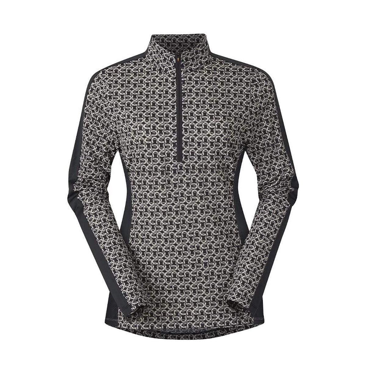 Kerrits Ice Fil Lite Long Sleeve Riding Shirt- Print