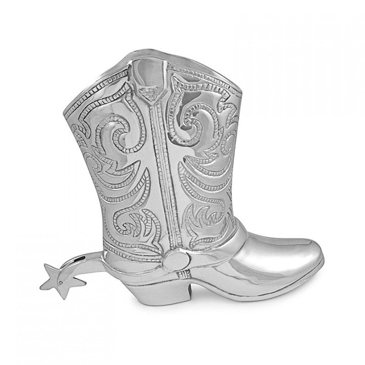 Beatriz Ball Equestrian Cowboy Boot Wine Bucket