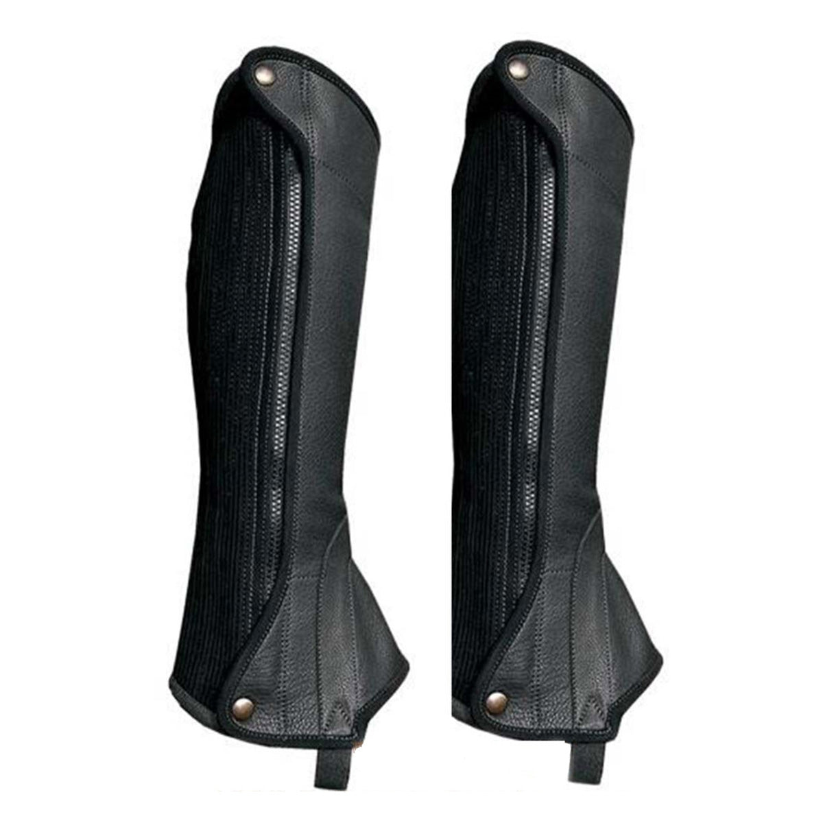Grand Prix Elite Leather Half Chaps