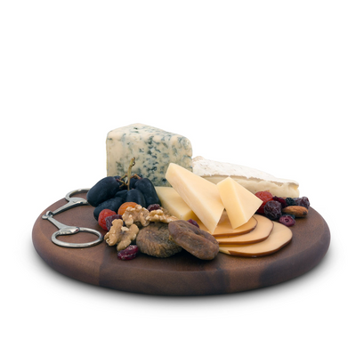 Arthur Court Horse Bit Wood Cheese Board