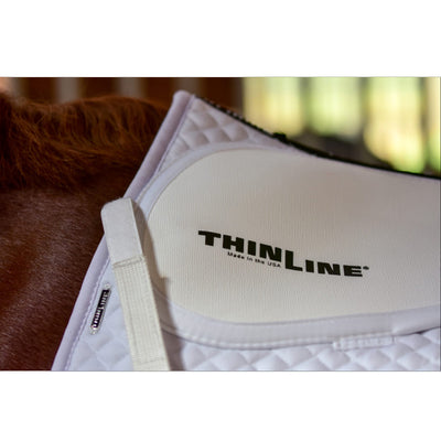 ThinLine Cotton Quilted Square Jumping Saddle Pad