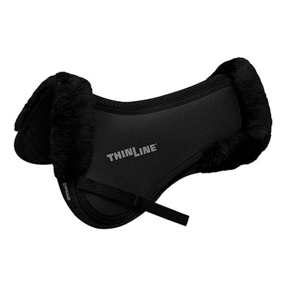 ThinLine Ultra Trifecta Cotton Half Pad with Sheepskin
