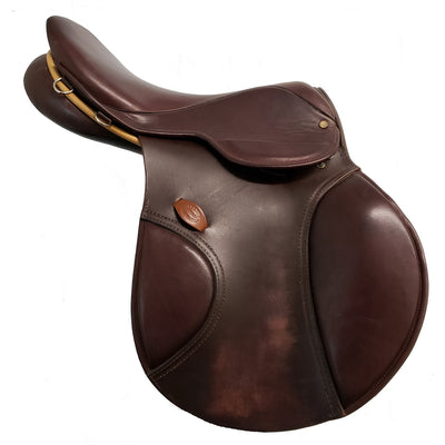 "Berney Brothers Grand Prix International 17"" Used Close Contact Saddle"