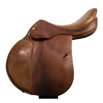 "Prestige Red Fox 17"" Used Close Contact Saddle"