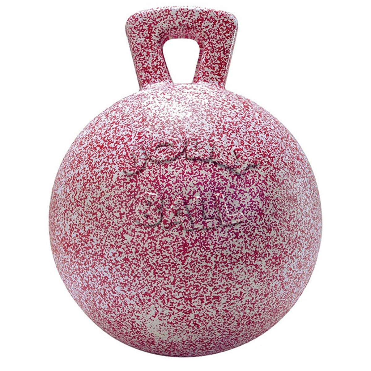 Jacks Jolly Ball with Handle Peppermint Scented 10""