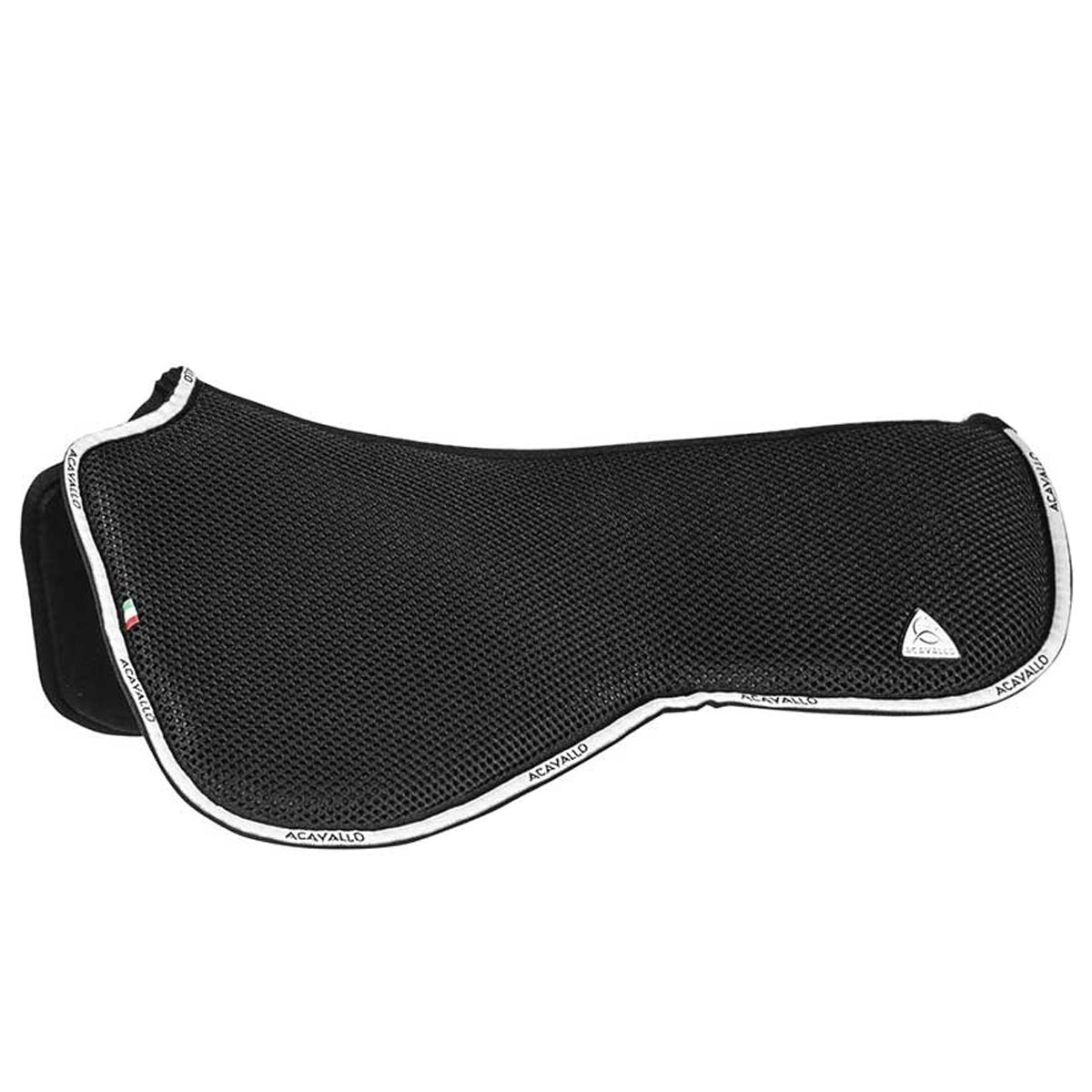Acavallo Dressage Withers Free Double Face 3D Spacer & Memory Foam Close Contact Half Pad