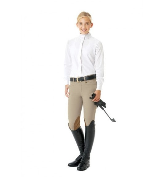 Ovation Child's Euroweave DX Teen Celebrity Knee Patch Breeches