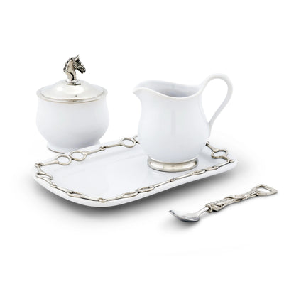 Vagabond House Sugar & Creamer Set