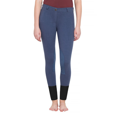Tuffrider Ladies Starter Pull On Knee Patch Breeches