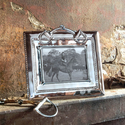 Beatriz Ball Equestrian Picture Frame-Snaffle Bit(5x7)