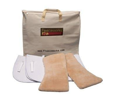 Fleeceworks Square Dressage Pad Set