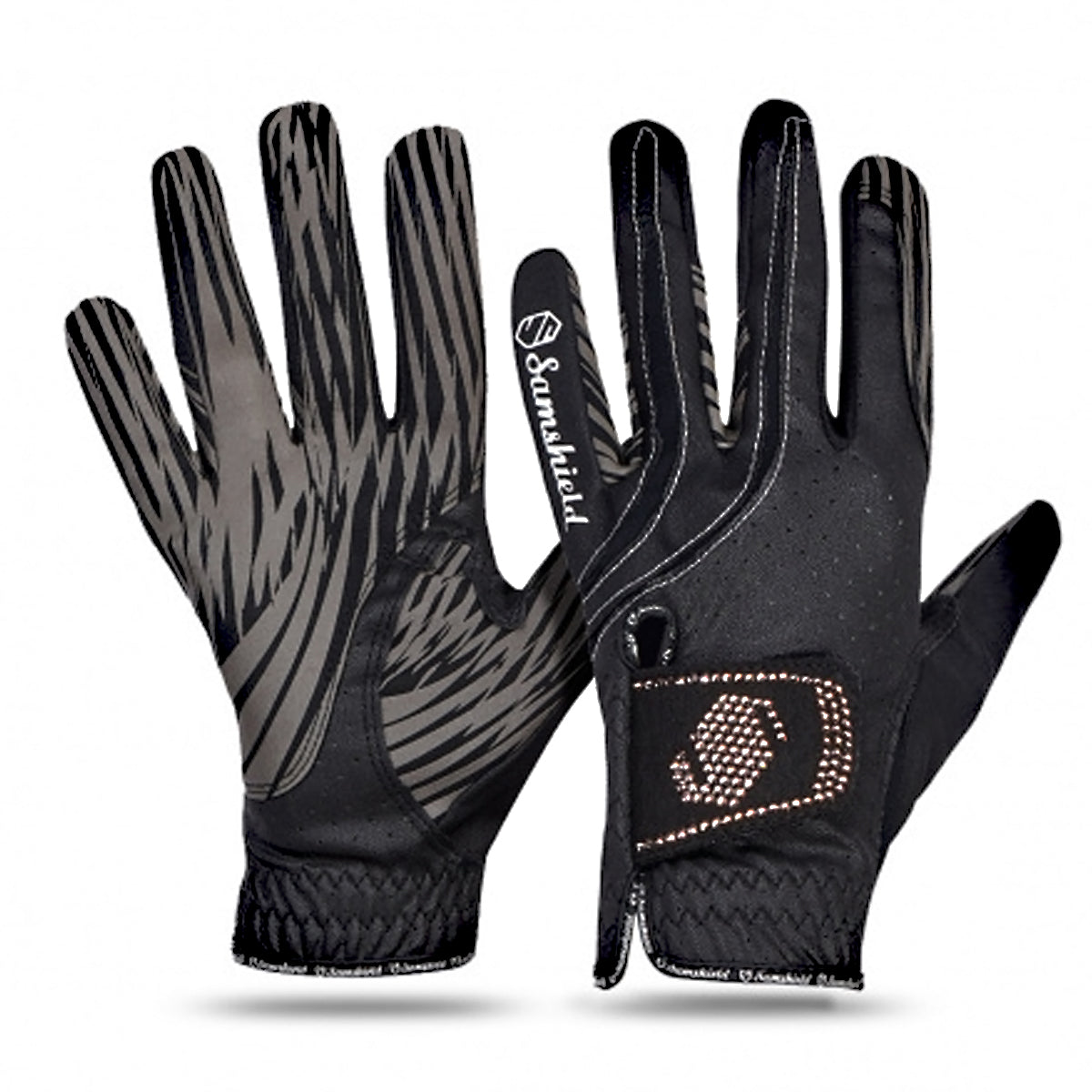 Samshield V Skin Swarovski Gloves- Rose Gold Crystals