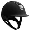 Samshield Black Leather & Chrome Helmet