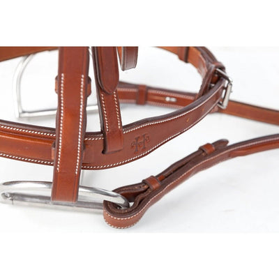 Huntley Equestrian Sedgwick Leather Fancy Stitched Bridle