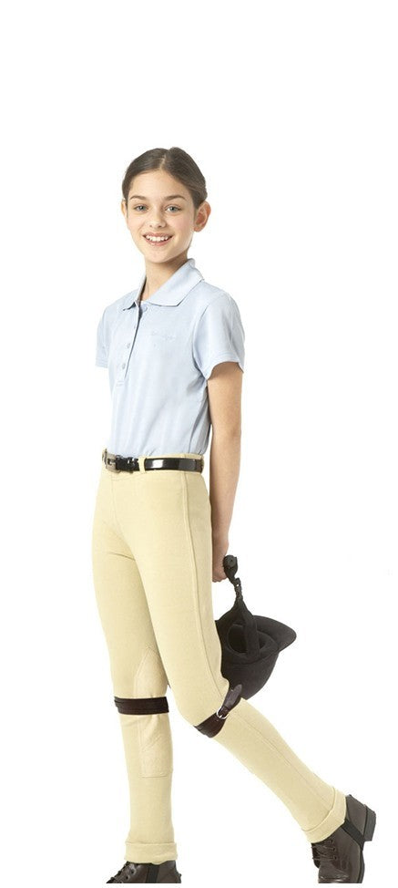 Equistar Child's Pull On Knee Patch Jodhpurs