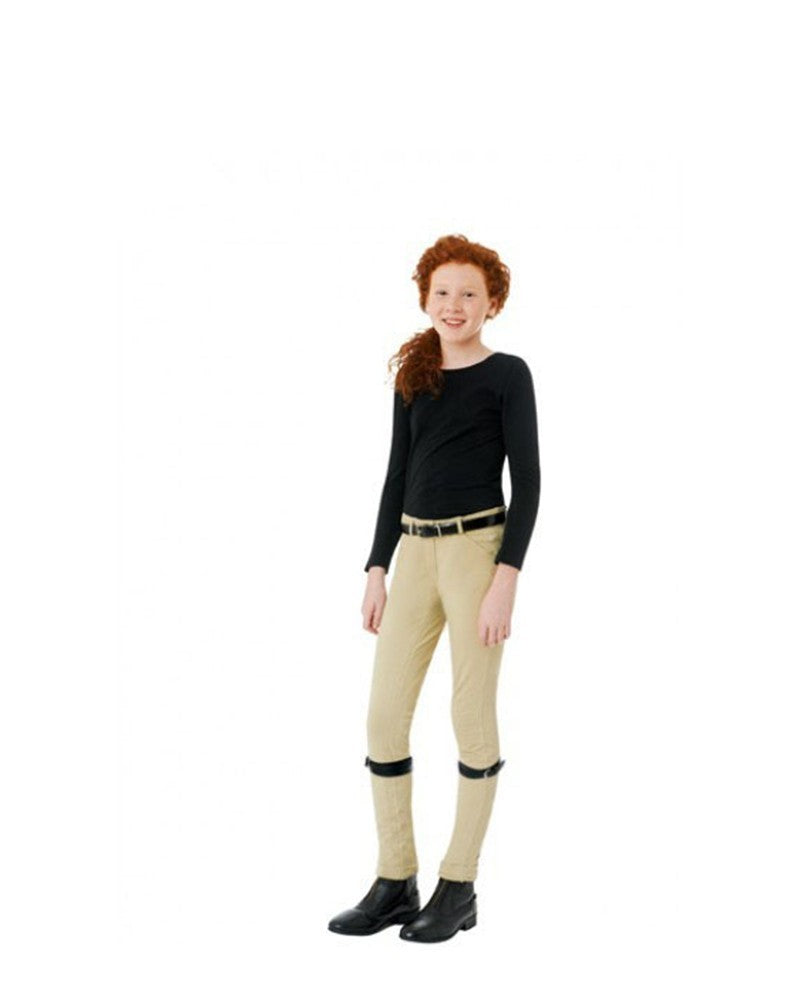 Ovation Child's Lauren Pull On Euro Seat Jodhpurs