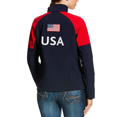 Ariat Ladie's Global Softshell Jacket USA
