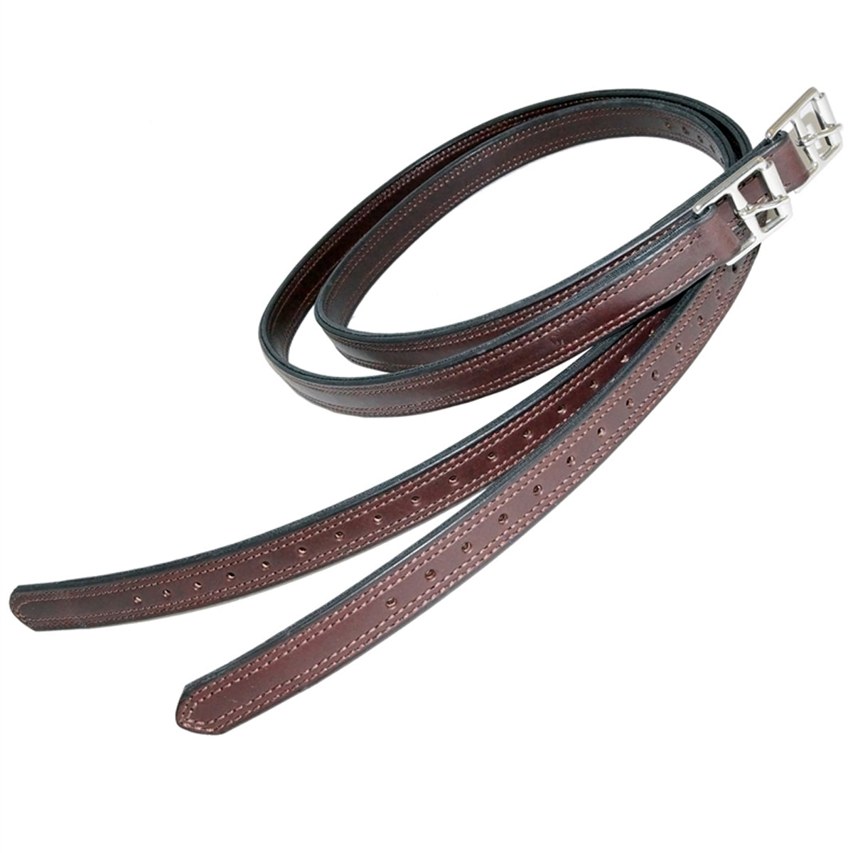 "Nunn Finer Nylon Center 1"" Stirrup Leathers"