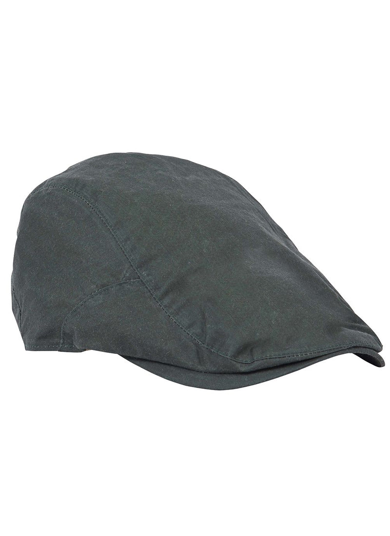 Barbour Lightweight Wax Flat Cap