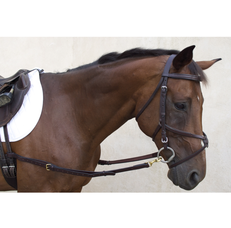Nunn Finer All Leather Side Reins