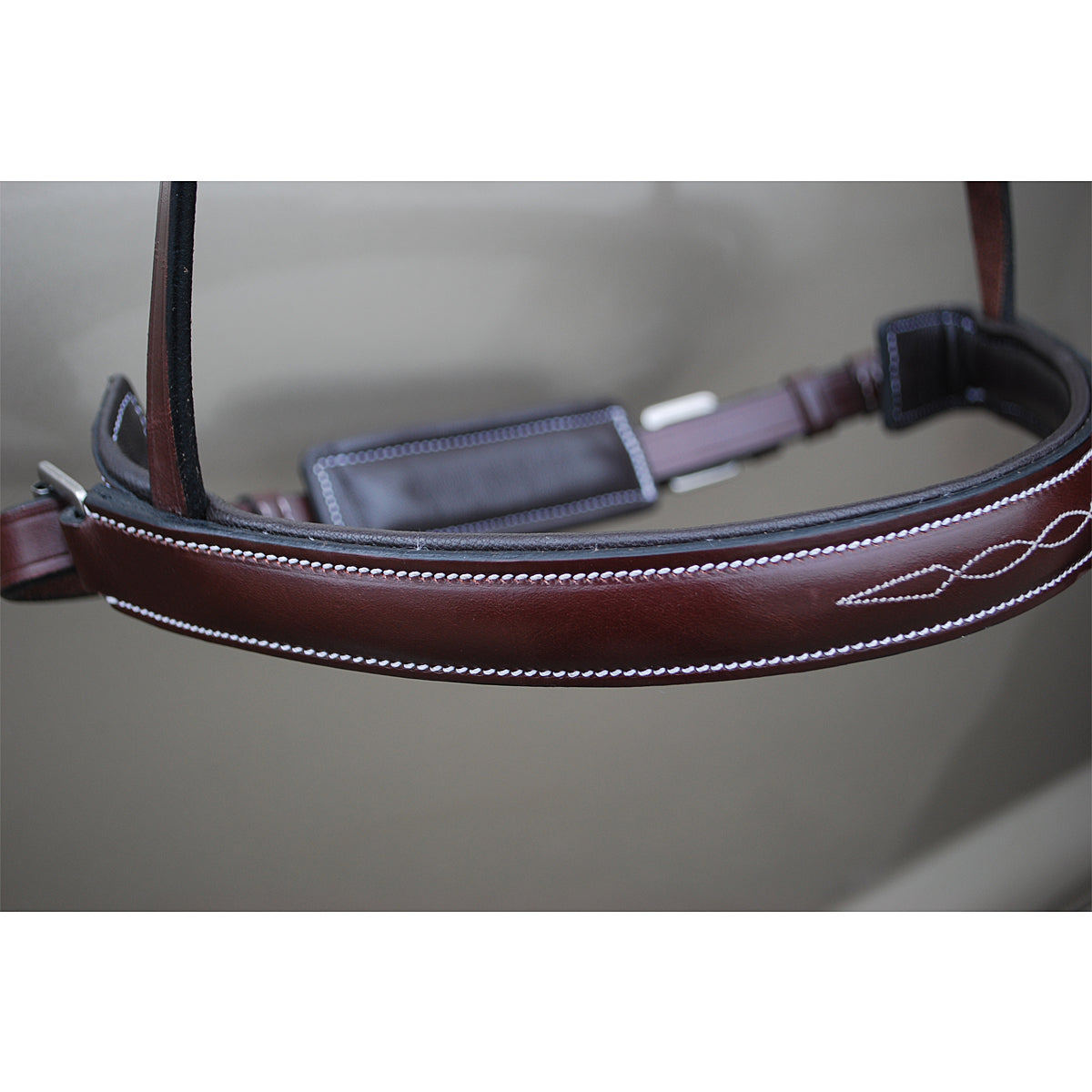 KL Select Red Barn Hunter Crank Noseband