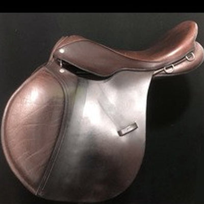 "Berney Brothers AP 17.5"" Used All Purpose Saddle"