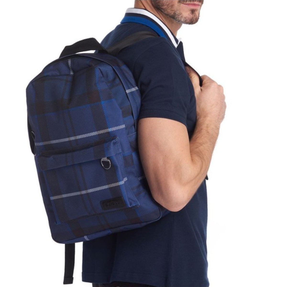 Barbour Tartan Backpack