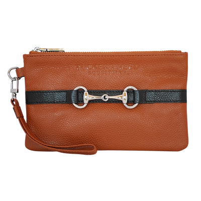 Tucker Tweed Equestrian Wellington Wristlet