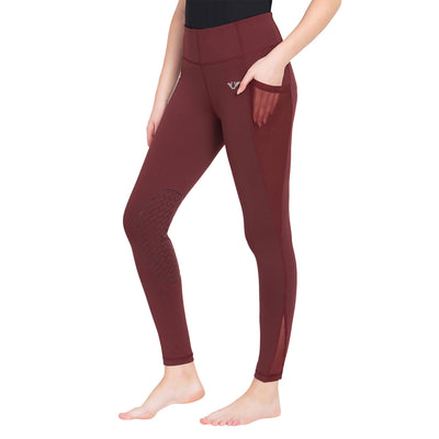 Tuffrider Ladies Minerva EquiCool Knee Patch Tights