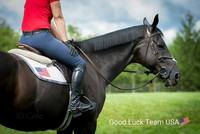 beezie madden on horse good luck usa