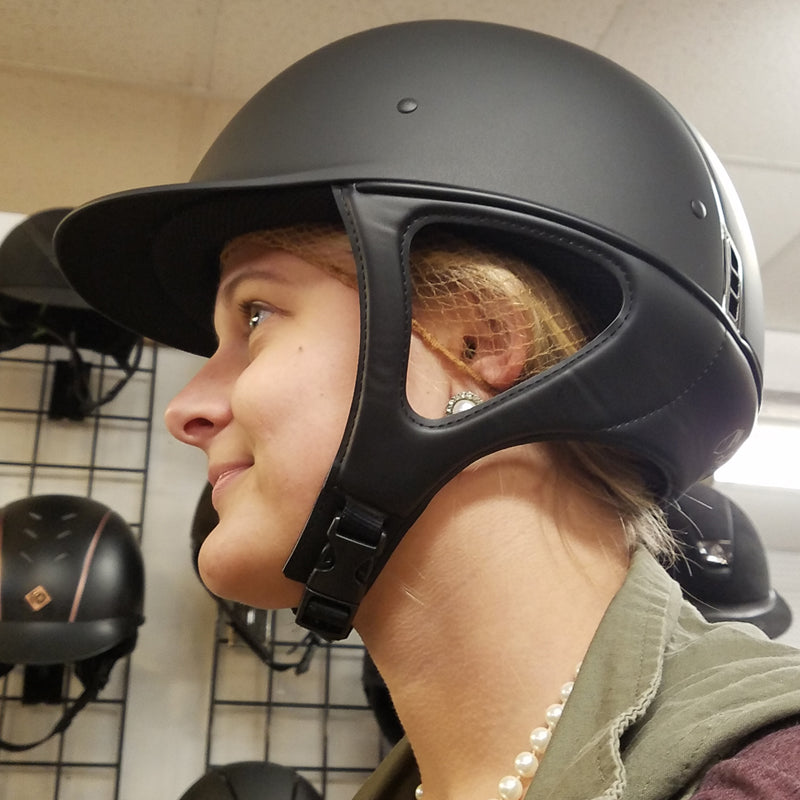 bucking helmet chin strap for correct fit