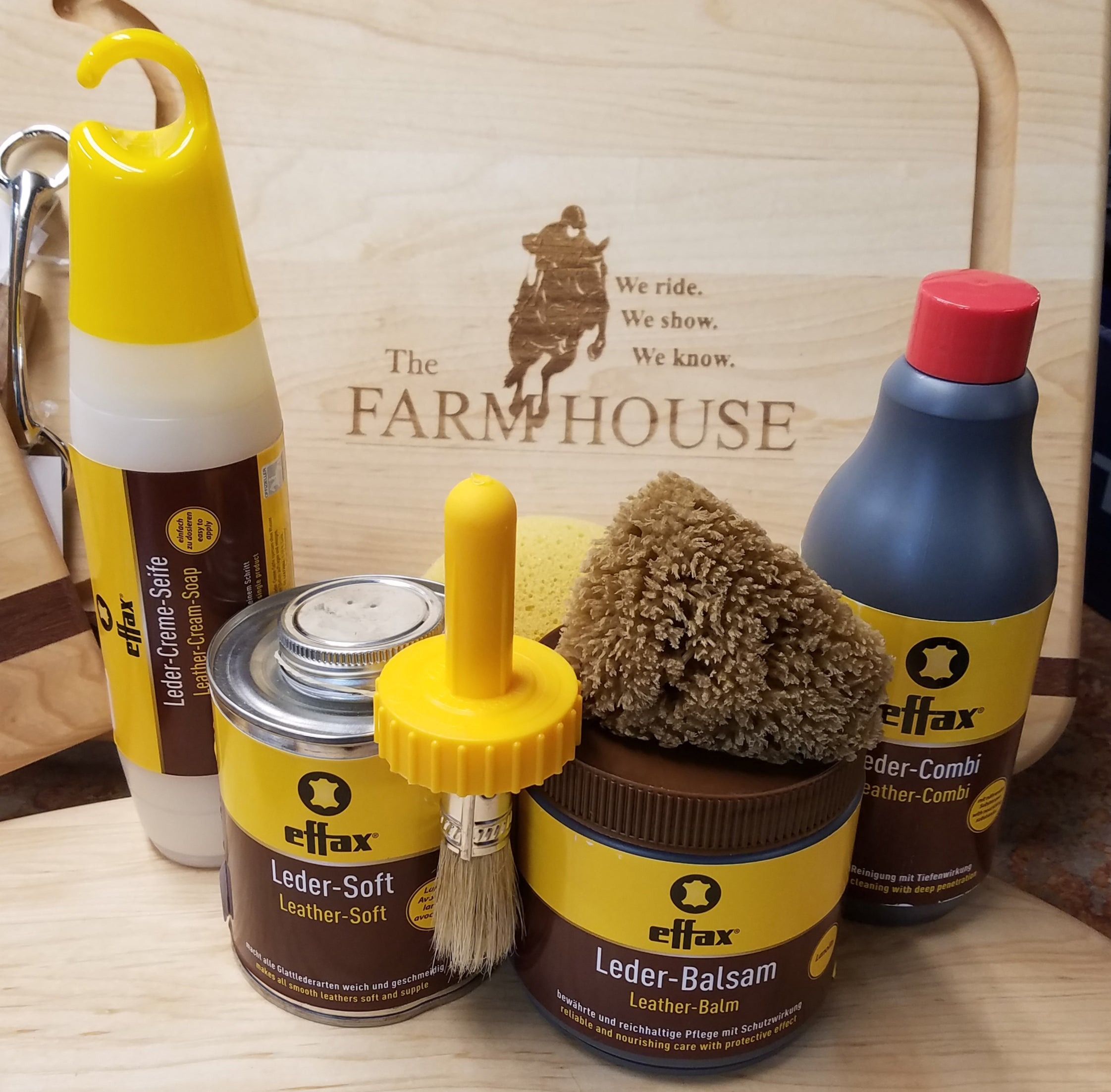 Products to clean tack with