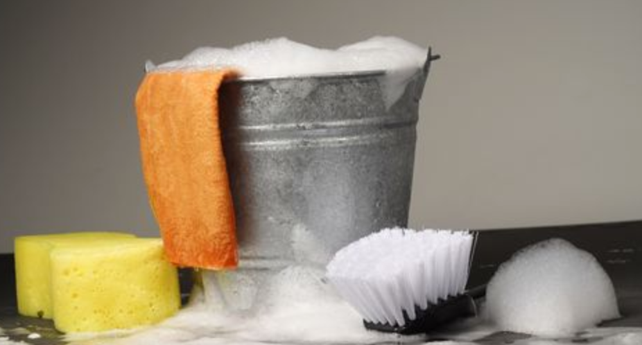 supplies to clean your irons