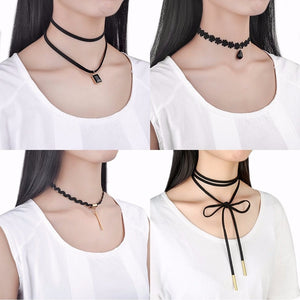 10 PIECE CHOKER SET