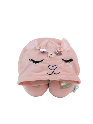 Yumi Bunny Hooded Neck Pillow - Under1Sky